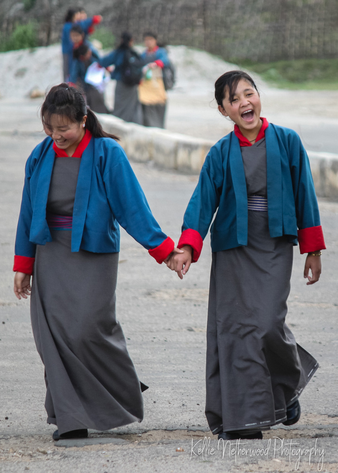 School uniform Bhutan