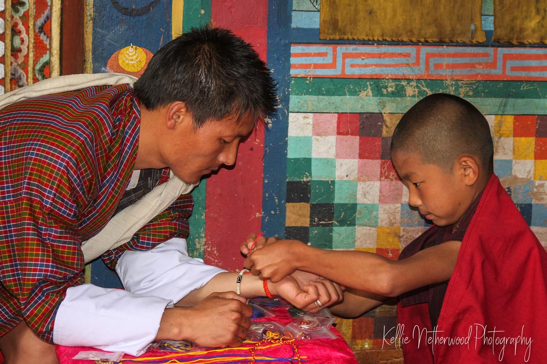 Buddhist monk Bhutan