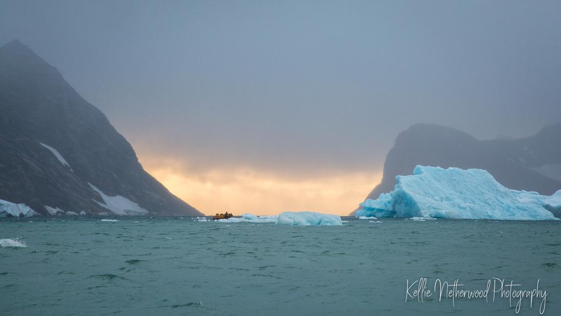 Warming Island East Greenland