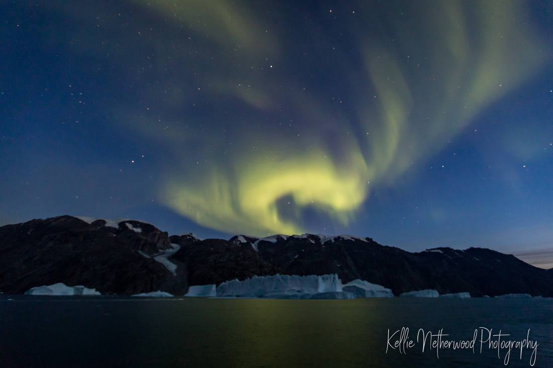 Northern Lights East Greenland